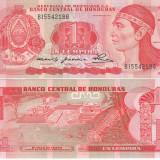 !!! HONDURAS - 1 LEMPIRA 1980 - P 68a - UNC