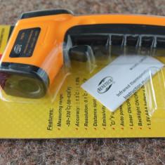 Termometru Infrarosu digital laser Non Contact ( -50 si +380 grade ) nou !