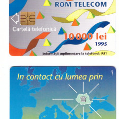 Cartela ROMTELECOM 1995 - 10000 lei - Cartela GSM
