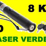 Laser Verde 3D 10.000 Mw (green Laser)  Acumulator Raza 8KM seria 303