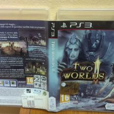 Two Worlds II (PS3) (ALVio) + sute de Jocuri PS3 Ea Games (VAND / SCHIMB), Actiune, 16+