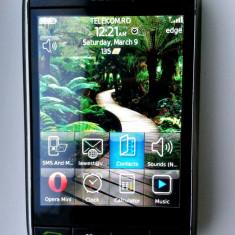 Telefon Blackberry Storm 9500 touchscreen, Negru, 1GB, Neblocat, Single SIM, Single core