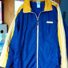 Geaca firma ADIDAS marimea XL, arata ca noua! - Geaca barbati Adidas, Culoare: Albastru, Albastru, Poliester
