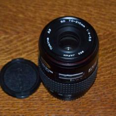 Obiectiv Tokina AF 70-210mm/1:4-5, 6 montura Minolta Sony Alpha - Obiectiv DSLR