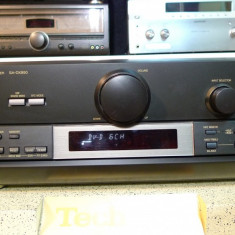 Amplituner (receiver) Technics SA-DX850 cu intrari digitale, telecomanda, poze reale - Amplificator audio