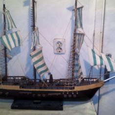 Macheta Navala - Macheta corabie cu panze