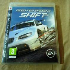 Joc NFS Shift, Need for Speed PS3, original, alte sute de jocuri! - Jocuri PS3 Ea Games, Curse auto-moto, 3+, Single player