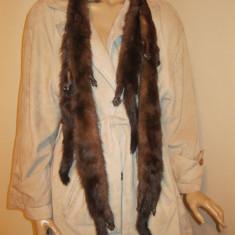 Guler din nurca, guler sal din nurca format din 4 bucati - Fular Dama, Culoare: Din imagine