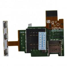 Banda Flex Slot Sim SI Cititor Card Sony Xperia J ST26i Originala