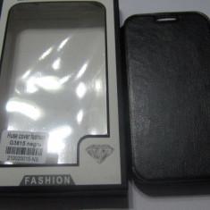 Husa SAMSUNG GALAXY EXPRESS 2 G3815 FOLIE CADOU - Husa Telefon Accessorize, Negru, Piele, Cu clapeta