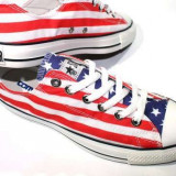 Tenisi Converse All Star Steag America - Tenisi dama, Marime: 42, Culoare: Din imagine