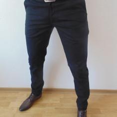 Pantaloni barbati - PANTALONI SLIM FIT ZARA MAN BARBATI B 38 + CADOU CRAVATA SLIM FIT!!
