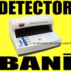 Gadget - DETECTOR profesional BANI FALSI Valuta Falsa Bancnote cu UV ultraviolet tester