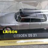 Macheta metal DeAgostini Citroen DS21 Noua+REVISTA Masini de legenda nr. 65 - Macheta auto, 1:43