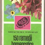 150 remedii homeopatice vegetale - Carte tratamente naturiste