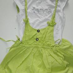 Rochita, rochie pentru fetite, marimea 8 ani, fusta tip gogosar, ideala vara, Culoare: Din imagine