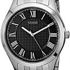 GUESS Men's U0476G1 Classic Silver-Tone   100% original, import SUA, 10 zile lucratoare a12107 - Ceas barbatesc Guess, Quartz