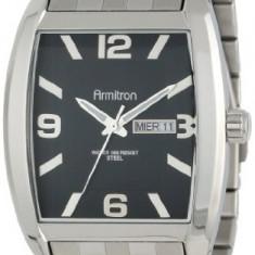 Armitron Men's 20 4874BKSV Silver-Tone   100% original, import SUA, 10 zile lucratoare a12107 - Ceas barbatesc Armitron, Quartz