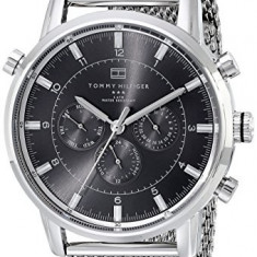 Tommy Hilfiger 1790877 Silver | 100% original, import SUA, 10 zile lucr. a12107 - Ceas barbatesc Tommy Hilfiger, Quartz