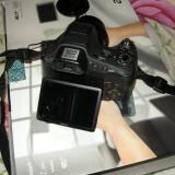 DSLR Sony, Kit (cu obiectiv), Peste 16 Mpx, Full HD - Aparat foto Sony DSC-HX100V