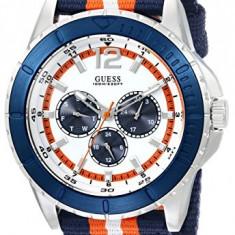 GUESS Men's U0454G1 Iconic Blue   100% original, import SUA, 10 zile lucratoare a12107 - Ceas barbatesc Guess, Quartz