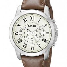 Fossil FS4735 Grant Brown Leather | 100% original, import SUA, 10 zile lucratoare a22207 - Ceas barbatesc