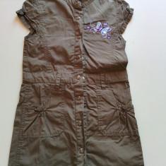 Rochita tip sarafan pentru fetite, 4-6 ani, Tik&Tak, 110 cm, sparta in capse