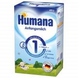 Humana Lapte praf Humana 1 cu prebiotice GOS, 600 g