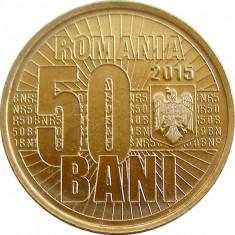 Monede Romania, An: 2015, Alama - 50 BANI 2015 JUBILIARA UNC / 50 BANI 2015 COMUNA UNC DIN FISIC