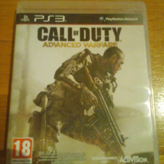 JOC PS3 CALL OF DUTY ADVANCED WARFARE ORIGINAL / by DARK WADDER - Jocuri PS3 Activision, Shooting, 18+, Multiplayer