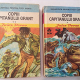 Carte poezie copii - Jules Vernes COPII CAPITANULUI GRANT{2 VOLUME, CARTONATE}, RF1/3