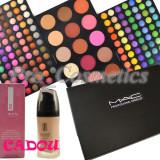 Trusa make up - Trusa Machiaj profesionala cu 183 culori MAC Anglia + CADOU Fond de Ten