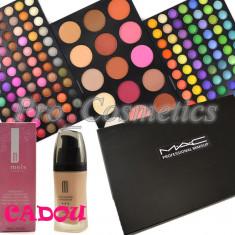 Trusa Machiaj profesionala cu 183 culori MAC Anglia + CADOU Fond de Ten - Trusa make up