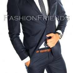 Costum tip ZARA - sacou + pantaloni - costum barbati casual office - 4890