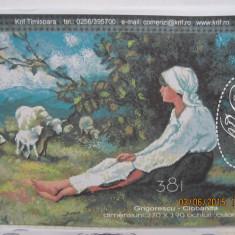 CIOBANITA-SET GOBLEN PENTRU CUSUT-dupa Grigorescu