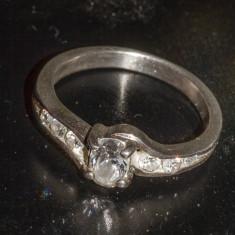 Inel vechi din argint cu pietre (11) - Inel argint