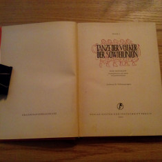 TANZE DER VOLKER DER SOWJETUNION - Igor Moissejew - 1951, 82 p. - Carte Arta dansului