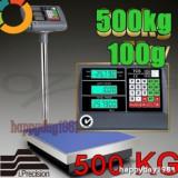 CANTAR  PLATFORMA   ELECTRONIC 500 KG