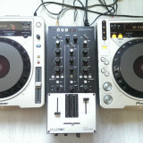 Mixere DJ - Pioneer CDJ800 MK2+Mixer Eclere NUO 2.0+NI AUDIO 4+BOXE BASS