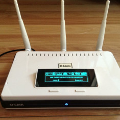 Router D-Link Dir-855 Xtreme N Gigabit dual band 2, 4gHz-5gHz, display, usb, Port USB, Porturi LAN: 4