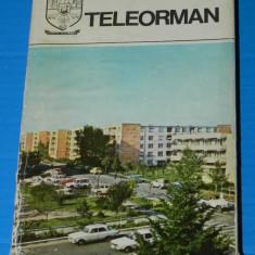 JUDETELE PATRIEI JUDETUL TELEORMAN. MONOGRAFIE - Carte Geografie