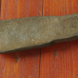 scule - unelte vechi -- veche dalta lata pentru lemn - realizata manual !!!