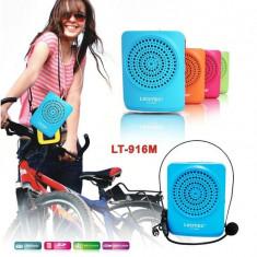 Boxa karaoke cu usb LEOTEC - Aparat radio, Digital, 0-40 W