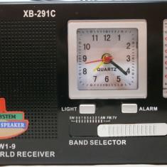 Radio cu ceas 12 Band ceas si alarma - Aparat radio, Analog, 0-40 W