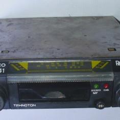 CD Player MP3 auto - Radio casetofon auto vechi Tehnoton nu Electronica Rally anii 80