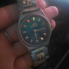 Vand ceas Vintage Orient SK 21 Jewels - Ceas barbatesc Orient, Elegant, Mecanic-Automatic, Inox, Rezistent la apa