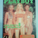 Revista barbati - Revista PLAYBOY - Gina Pistol - anul 2001 luna 11