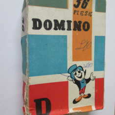 RAR! JOC COMPLET DOMINO 36 PIESE FABRICAT LA 9 MAI LUGOJ IN 1985 - Colectii