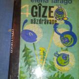 Carte poezie copii - PATRU GAZE NAZDRAVANE - ELENA FARAGO { EDITIE ILUSTRATA }