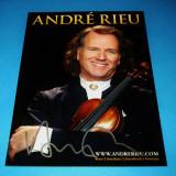 Autograf Andre Rieu poza oficiala 6x4